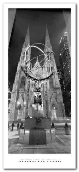 St Patrick Cathedral plakat obraz 23x50cm