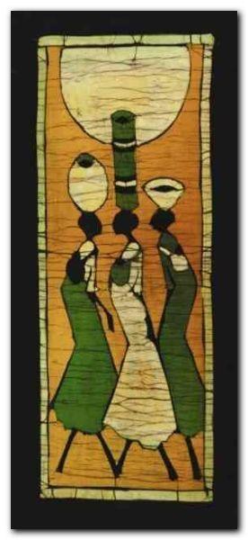 Batik I plakat obraz 23x50cm (1)
