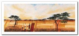 Bhundu Landscape I plakat obraz 50x23cm