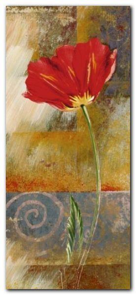One Tulip plakat obraz 23x50cm