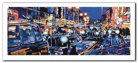 Black Cabs, London plakat obraz 50x23cm