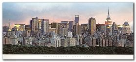 New York Skyline plakat obraz 50x23cm
