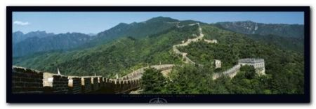 Great Wall Of China plakat obraz 95x33cm (1)