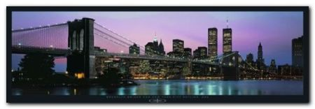 Brooklyn Bridge plakat obraz 95x33cm (1)