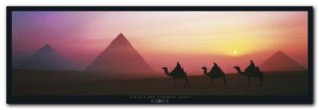The Great Pyramids plakat obraz 95x33cm (1)