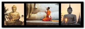 Spirituality plakat obraz 95x33cm