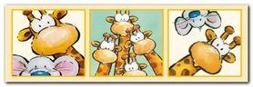 Funny Friends IV plakat obraz 95x33cm