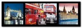 London plakat obraz 95x33cm