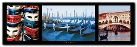 Venice plakat obraz 95x33cm