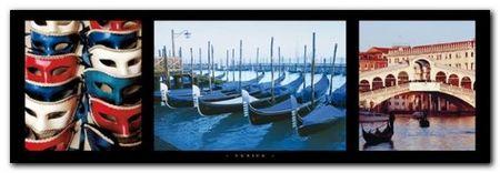 Venice plakat obraz 95x33cm (1)