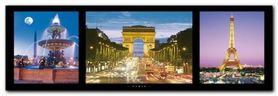 Paris plakat obraz 95x33cm