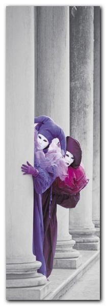 Carnevale Di Venezia plakat obraz 33x95cm