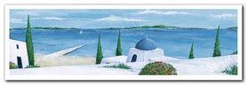 Aegean Summer II plakat obraz 95x33cm