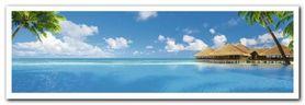 Valavaru Island plakat obraz 95x33cm