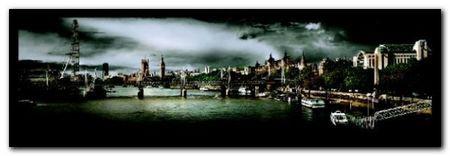 River Thames, London plakat obraz 95x33cm (1)