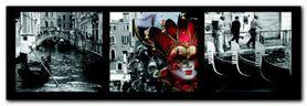 Carneval in Venice plakat obraz 95x33cm