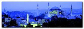 Aya Sophia Istanbul plakat obraz 95x33cm