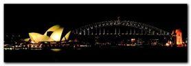 Harbour Sydney plakat obraz 95x33cm