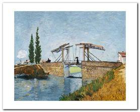 Le Pont De Langlois plakat obraz 50x40cm