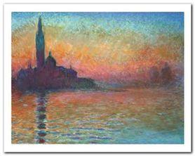San Giorgio Maggiore plakat obraz 50x40cm
