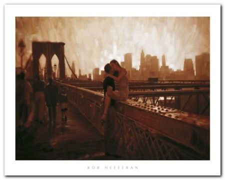 Brooklyn Bridge plakat obraz 50x40cm (1)