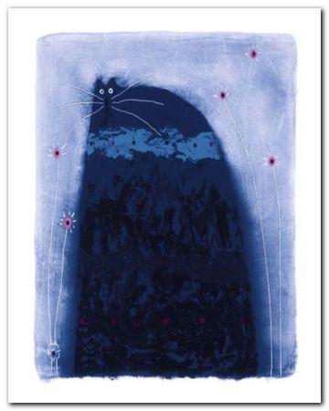 Poppin Jay plakat obraz 40x50cm (1)