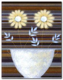 Two Golden Daisies plakat obraz 40x50cm