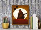 Cat And The Moon I plakat obraz 40x50cm (3)