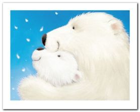 Fluffy Bears III plakat obraz 50x40cm