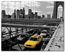 Brooklyn Bridge plakat obraz 50x40cm
