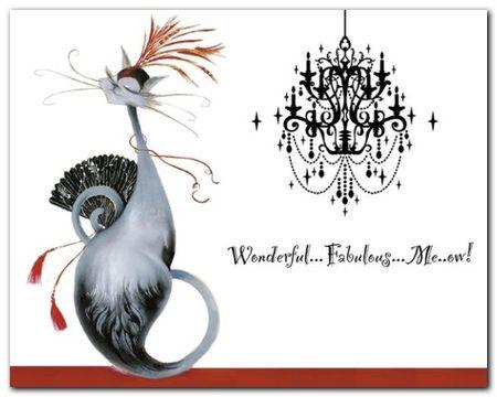Wonderful Fabulous plakat obraz 50x40cm (1)