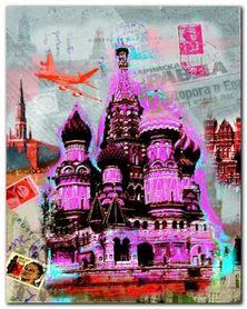 Moscow Vintage plakat obraz 40x50cm