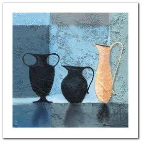 Clay Water Vase plakat obraz 60x60cm