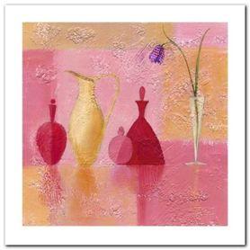 Perfume Bottles plakat obraz 60x60cm