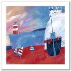 Low Tide plakat obraz 50x50cm (1)