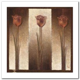 Three Tulips plakat obraz 50x50cm