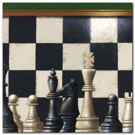 Chess plakat obraz 50x50cm