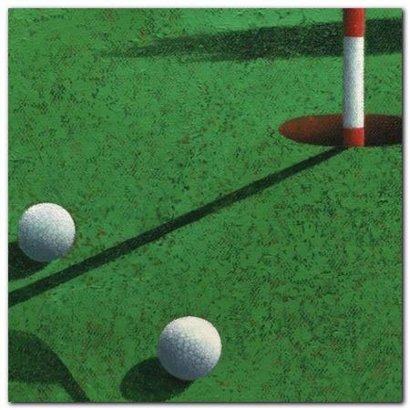 Golf plakat obraz 50x50cm (1)