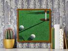 Golf plakat obraz 50x50cm (3)