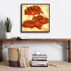 Three Poppies I plakat obraz 50x50cm (2)