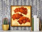 Three Poppies II plakat obraz 50x50cm (3)