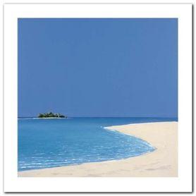 Island In The Sun I plakat obraz 30x30cm