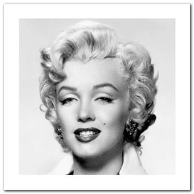 Monroe Portrait plakat obraz 30x30cm