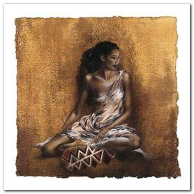 Ebony II plakat obraz 30x30cm