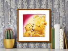 Mother Bears Love plakat obraz 30x30cm (3)