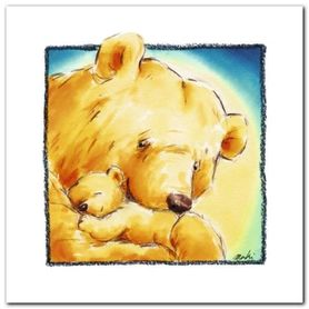 Mother Bear-S Love IV plakat obraz 30x30cm