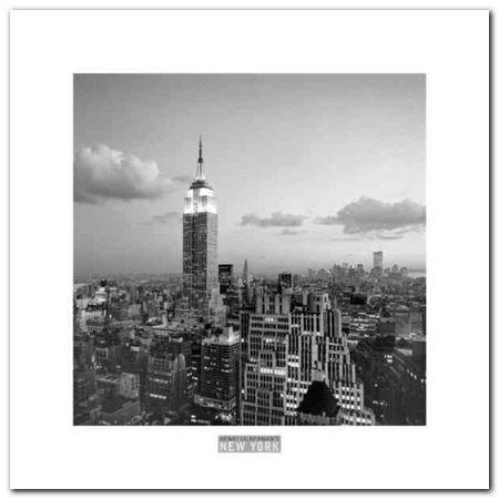 Empire State Building plakat obraz 30x30cm (1)