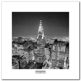 Chrysler Building plakat obraz 30x30cm