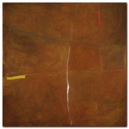 Abstract In Brown plakat obraz 30x30cm (1)