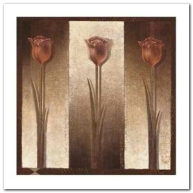 Three Tulips plakat obraz 30x30cm